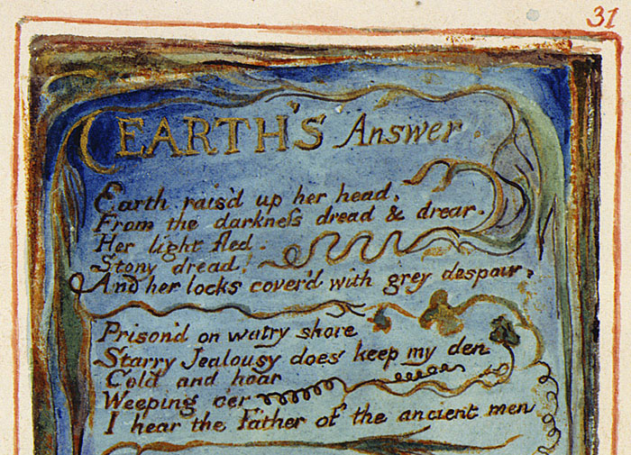 William Blake's Earth Answer