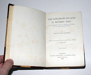 Leo Tolstoy's The Kingdom of God Is Within You