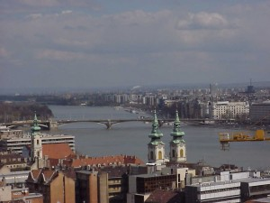 The view of the Danube from the Castle, 2000