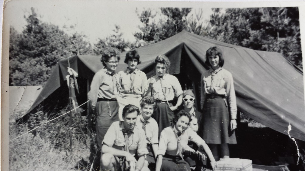 Hungarian Scouting Folk Art Camp 19645