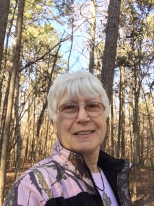 Walking the trail at Bethesda Park, Lawrenceville, GA